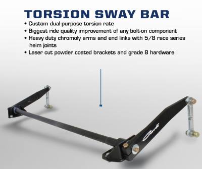 Carli 2014+ Dodge Torsion Sway Bar