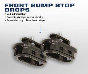 Carli 2014+ Ram Front Bump Stop Drops