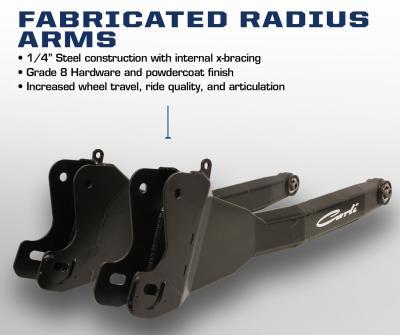 Carli Ram Fabricated Radius Arms