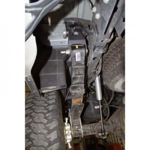 Synergy 1 Rear Lift Shackles for 03-12 Ram installed