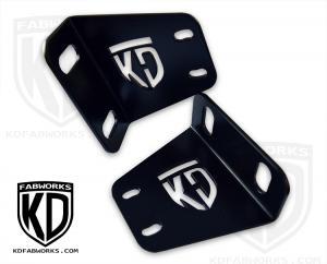 KD Fabworks F250/350 Rigid RDS Bumper Brackets