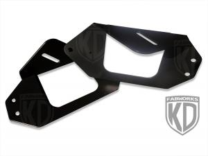 KD Fabworks Dodge Ram Pod Light Brackets