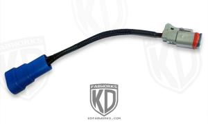 KD Fabworks Dodge LED Light Adapter Harness 9006