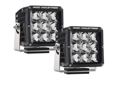 Rigid Industries Dually XL LED Light Pair flood pattern