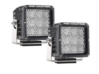 Rigid Industries Dually XL LED Light Pair diffused pattern