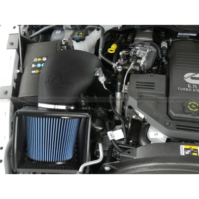 AFE Stage 2 Magnum Force Pro 5R 2013-2015 Cummins Intake installed