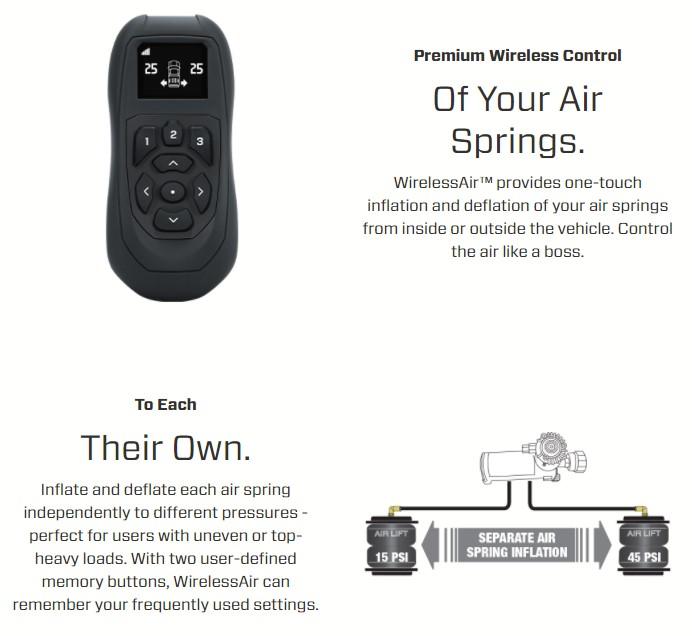 Air Lift Wireless Air Gen 2