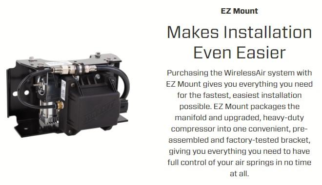 Air Lift Wireless Air Gen 2 Compressor System