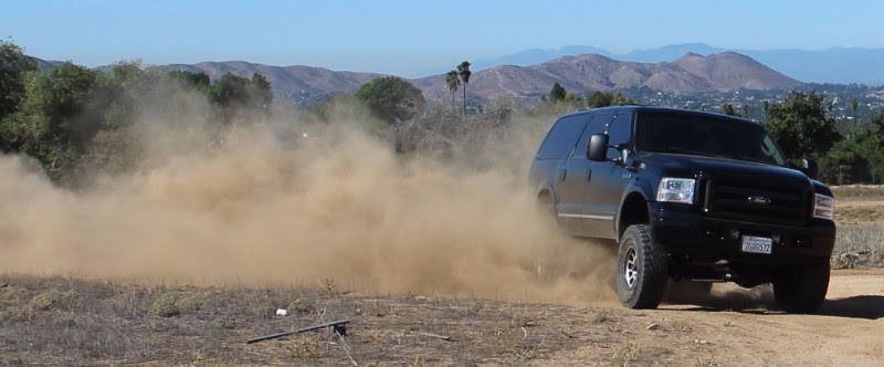/Carli Suspension Ford Excursion 4_5in Lift Kit in action