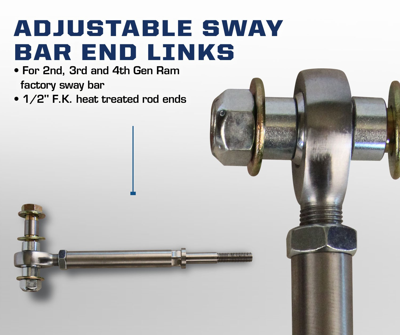 Carli Dodge Adjustable Sway Bar End Links