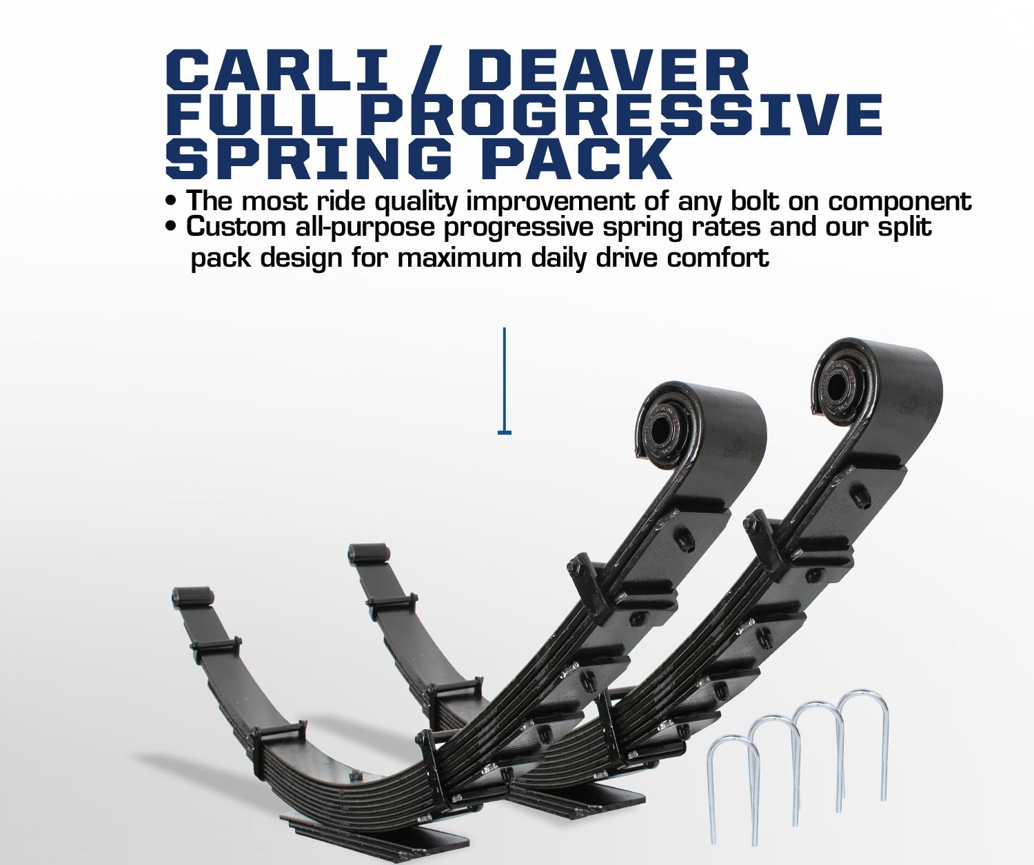Ford Superduty full leaf rear suspension
