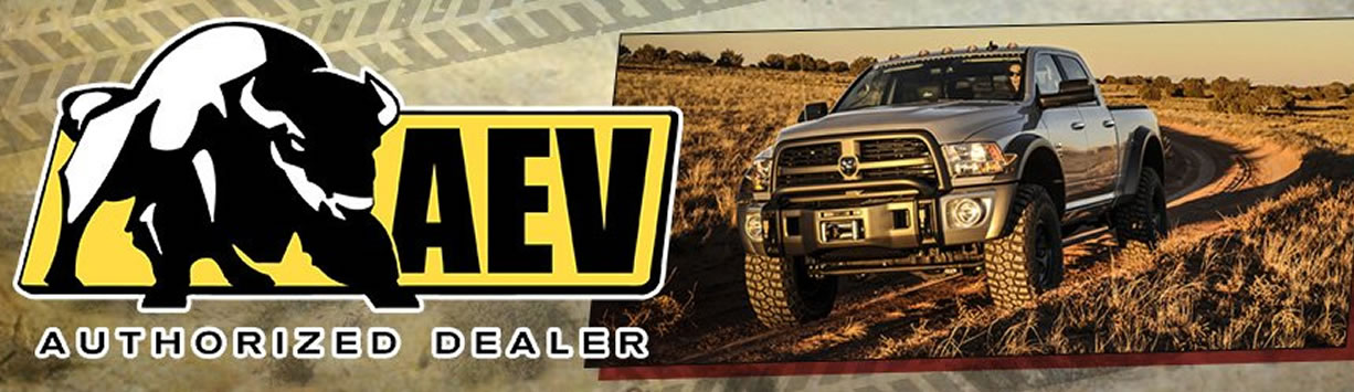 AEV (American Expedition Vehicles) at 8LUG Truck Gear