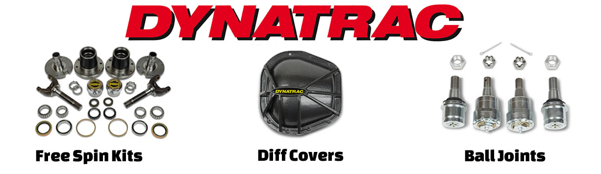 Dynatrac for Ford and Dodge Ram at 8LUG Truck Gear
