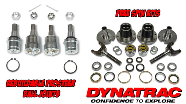 Dynatrac High Durability Ball Joints at 8Lug Truck Gear