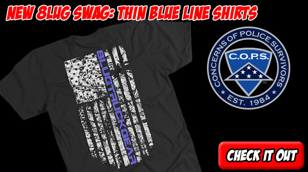 Help 8LUG show support for the police and law enforcement here in the United States