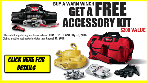 Warn Industries Winches at 8Lug Truck Gear