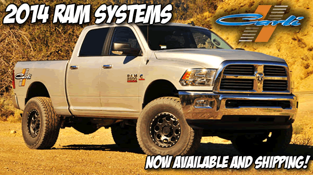 Carli Suspension Lift Kits for Dodge and Ram at 8Lug Truck Gear