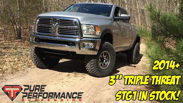 Pure Performance Triple Threat at 8Lug Tuck Gear